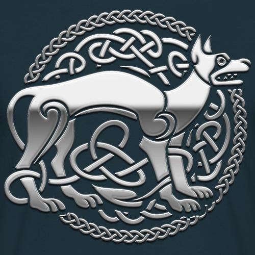 Keltischer Hund, silber T Shirt