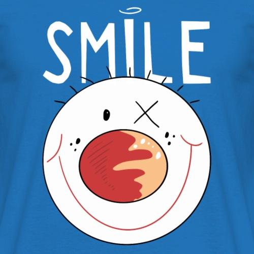 Sourire chiffre de bâton Clown - BD - Le rire