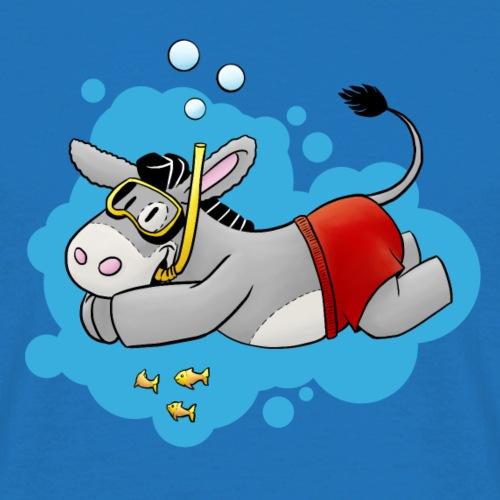 Donkey - Kuschelesel va nager