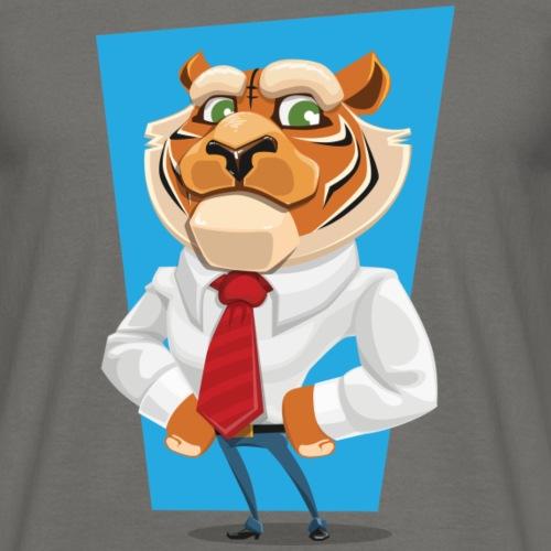 tigre en costume