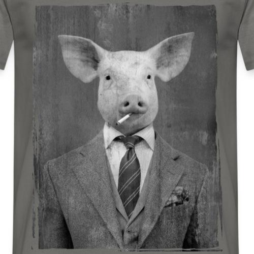 Cochon cravate