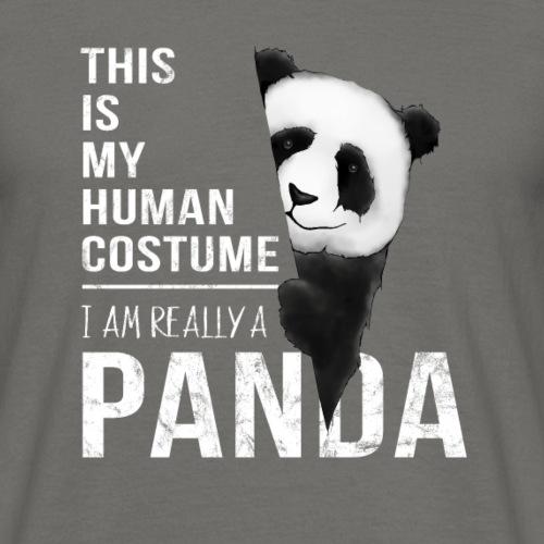 costume humain en vrai cadeau de panda