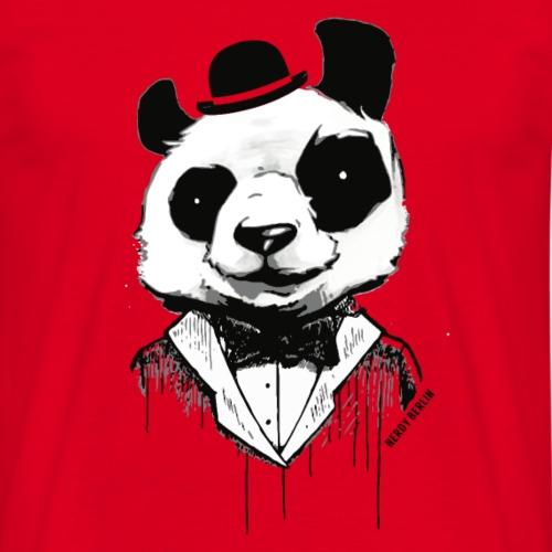 Panda - comme un monsieur - art de la rue