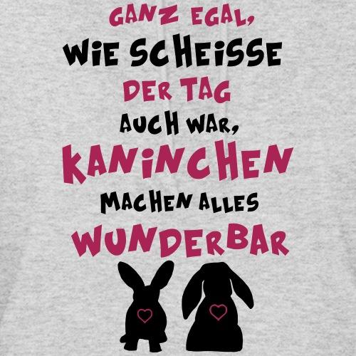 Kaninchen machen alles wunderbar