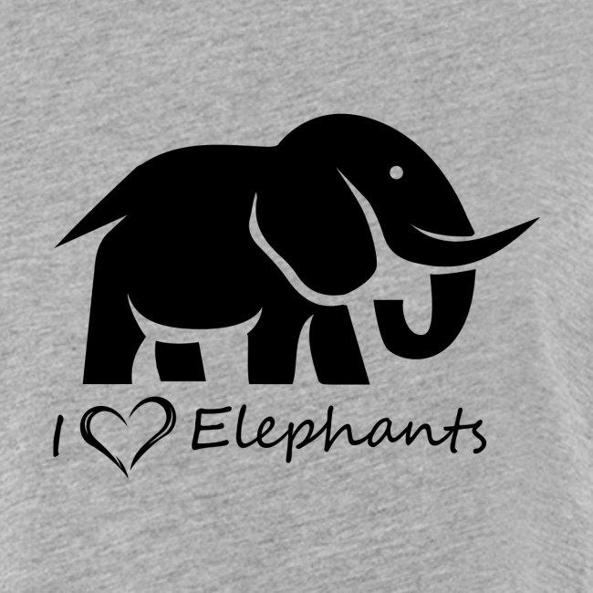 I Love Elephants