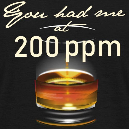 Whisky T-Shirt Design 200 ppm