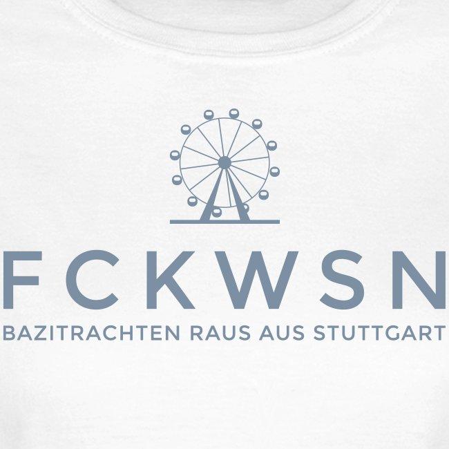 FCKWSN Riesenrad und Schriftzug Ladies