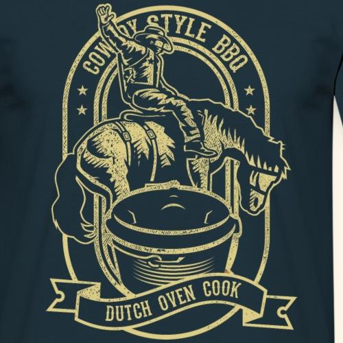 Cowboy Style BBQ Dutch Oven T-Shirt