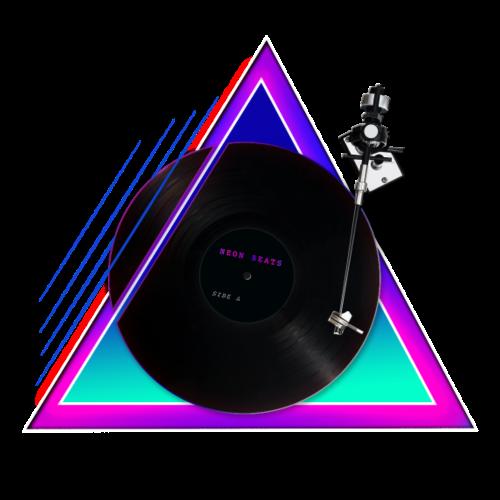 80er Jahre Neon Beats