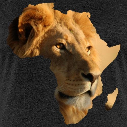 Afrique amour - carte Lion