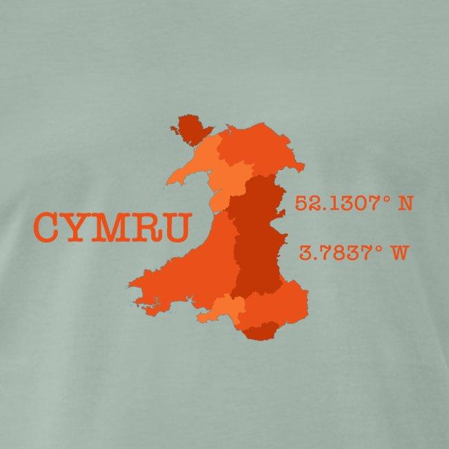 Cymru Longitude & Latitude