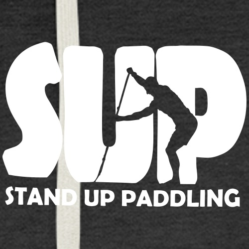 Stand Up Paddling Silouette
