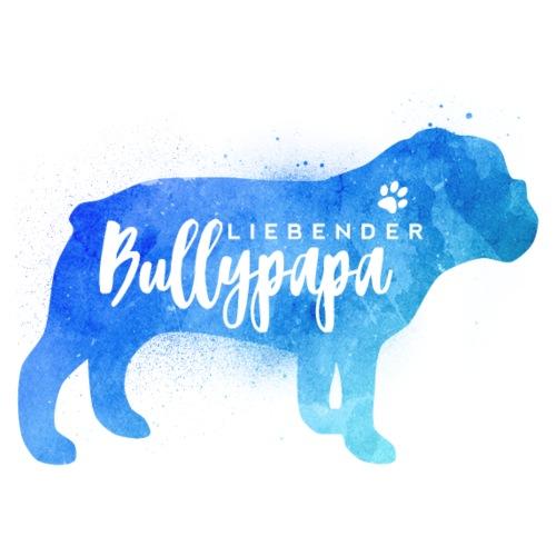 Liebender Englische Bulldoggen Papa