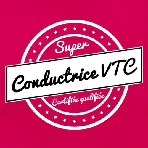 Super conductrice VTC- blanc