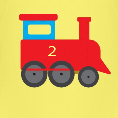 Train de train locomotive à vapeur train pour enfants T-shirt