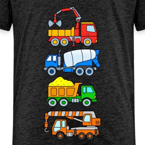 Chantier de construction de camion pour enfants