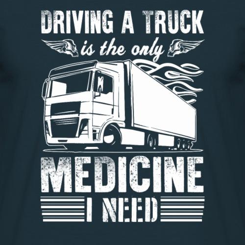 camionneur médecine pilote pour camionneur