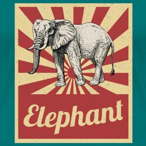 Cadeau d'activiste des droits des animaux de cirque d'éléphant