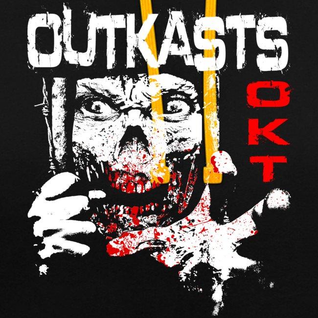 OutKasts.EU Scum OKT Contrast Colour Hoodie