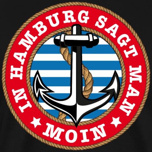 77 In Hamburg sagt man Moin Anker Seil