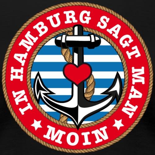 78 In Hamburg sagt man Moin Anker Seil Herz