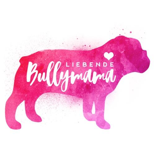 Liebende Englische Bulldoggen Mama