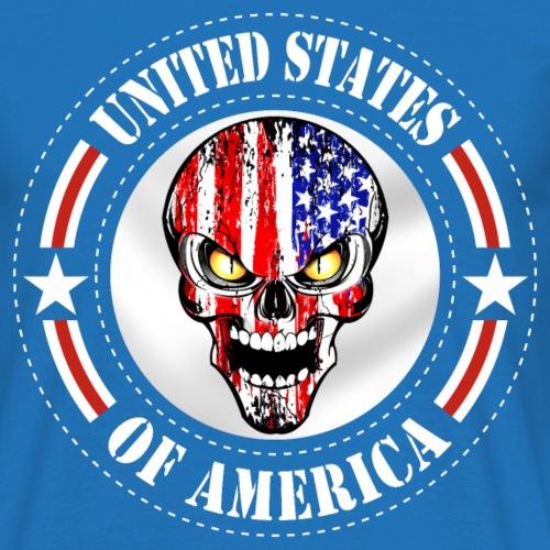 USA Skull