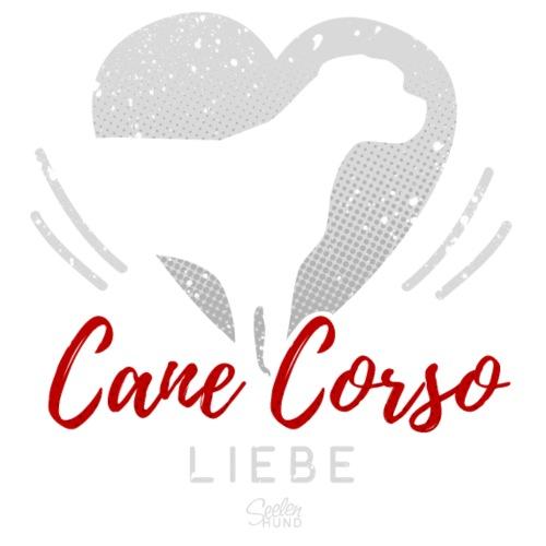 Cane Corso Liebe mit Herz