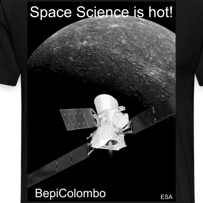 Space Science is hot! - BepiColombo (m)