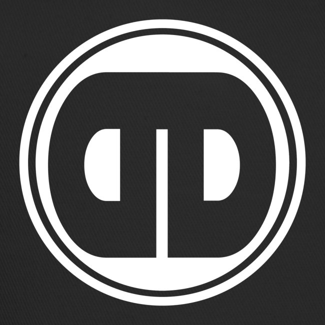 DD Badge Trucker Cap  Black