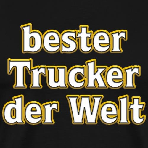 bester Trucker der Welt--Vom Grafik Designer