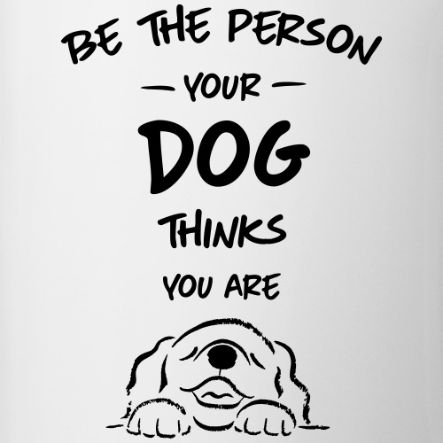 be the person dog