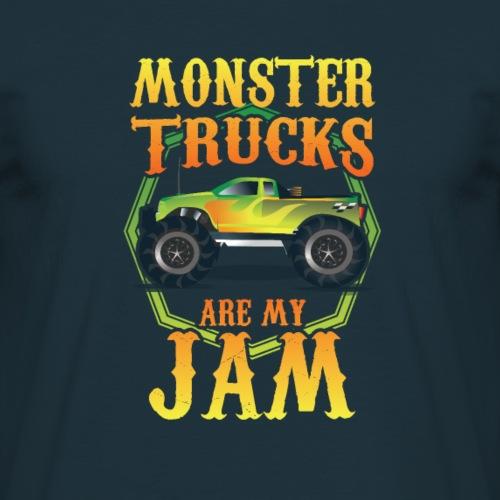 T-shirt et cadeau de camion de monstre