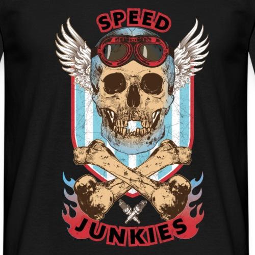 Speed junkies course de motocycliste automobiliste