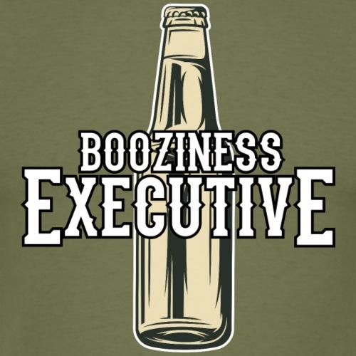 Booziness Executive Bier-T-Shirt