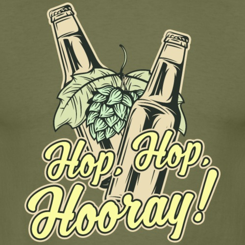 Craft Beer T-Shirt Hop, Hop, Hooray!