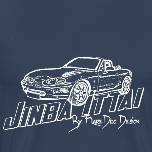 MX-5 NB Jinba Ittai White