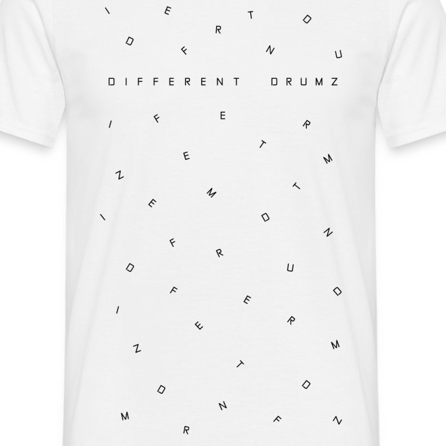 Different Drumz Letters