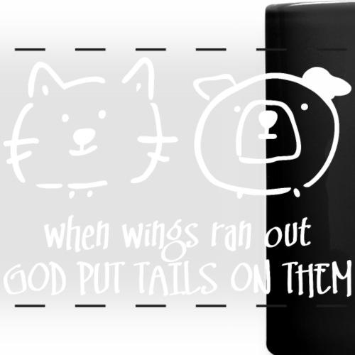 God put tails on them 2 (dark)