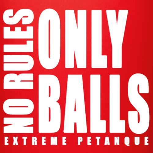 No rules, only balls - blanc