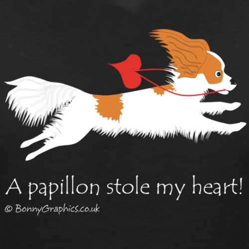 Papillon thief brown and