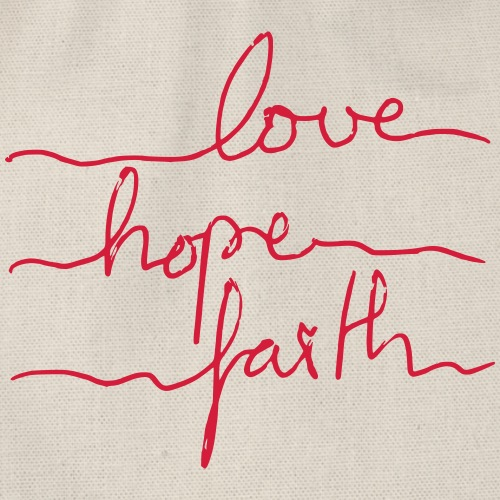 LoveHopeFaith Typo