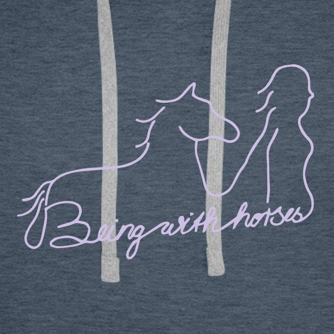 Beingwithhorses (Print Digital Lavendel)