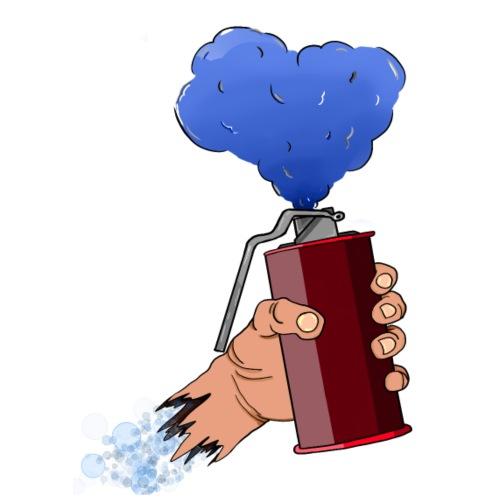 Fumigène Allumée