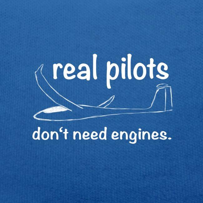 Segelflieger - real Pilot - lustiger Spruch für Segelflieger - das perfekte Geschenk