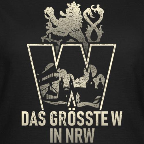Wuppertal T Shirt das größte W in NRW  ✔