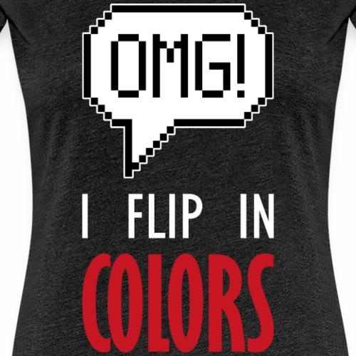 I flip in colors (dark)