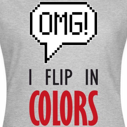I flip in colors