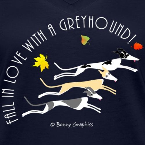 Fall in love greyhound