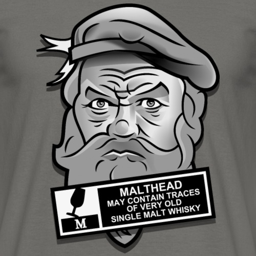 Whisky T Shirt Malthead Warning